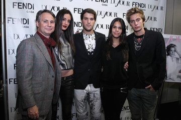 Julia Moshy Jason Binn's DuJour Magazine And Celebrity Chef Marc Murphy Celebrate Spring With Fendi Casa