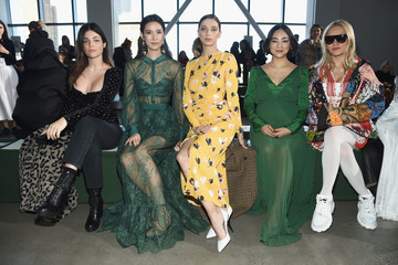Julia Restoin-Roitfeld Self-Portrait - Front Row - February 2019 - New York Fashion Week: The Shows