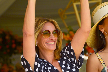 Julia Roberts 10th Annual Veuve Clicquot Polo Classic Los Angeles