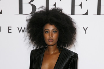 Julia Sarr Jamois De Beers Moments In Light Private Dinner - Arrivals - LFW SS16
