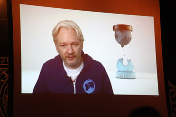 Julian Assange M.I.A. In Concert - New York, NY