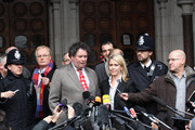 Mark Stephens, a lawyer for Wikileaks founder Julian Assange, talks to reporters at The High Court on December 16, 2010 in London, England. Mr Assange has been granted conditional bail, however he remains in police custody pending an appeal by Swedish prosecutors at the High Court.
