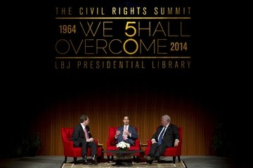 Julian Castro LBJ Presidential Library Hosts Summit