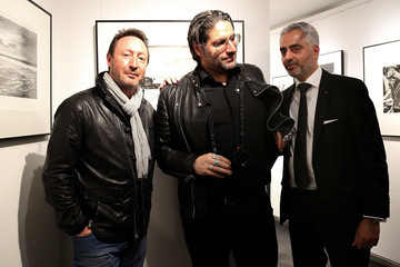 Julian Lennon Mathieu Bitton 'Cycle and Darker Than Blue' - Exhibition Preview In Frankfurt