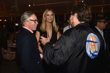 Julian Schnabel Vanity Fair and NSU Art Museum's Private Dinner, Hosted by Bob Colacello and Bonnie Clearwater in Honor of Douglas S. Cramer