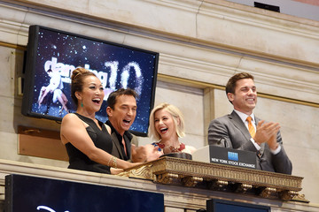 "Julianne Hough ""Dancing With The Stars"" Judges Ring The NYSE Closing Bell"