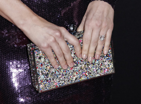 NBC And Vanity Fair's Celebration Of The Season [nail,finger,hand,glitter,fashion accessory,nail care,diamond,ring,jewellery,handbag,julianne hough,fashion detail,california,los angeles,the henry,nbc,vanity fair,celebration of the season,season,celebration]