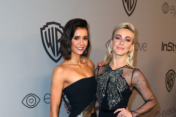 Julianne Hough Nina Dobrev The 2018 InStyle and Warner Bros. 75th Annual Golden Globe Awards Post-Party - Red Carpet
