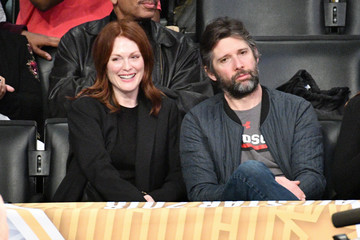 Julianne Moore Celebrities At The 67th NBA All-Star Game: Team LeBron Vs. Team Stephen