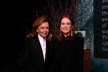Julianne Moore Caroline Scheufele Chopard - Baselworld 2018 Press Conference