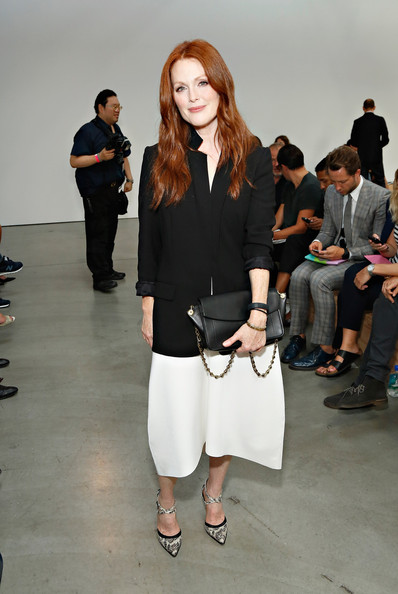 Julianne Moore - MBFW: Front Row at Reed Krakoff