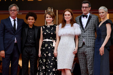 Julianne Moore Todd Haynes 'Wonderstruck' Red Carpet Arrivals - The 70th Annual Cannes Film Festival