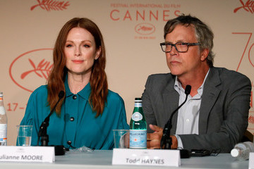 """Julianne Moore Todd Haynes """"Wonderstruck"""" Press Conference  - The 70th Annual Cannes Film Festival"""