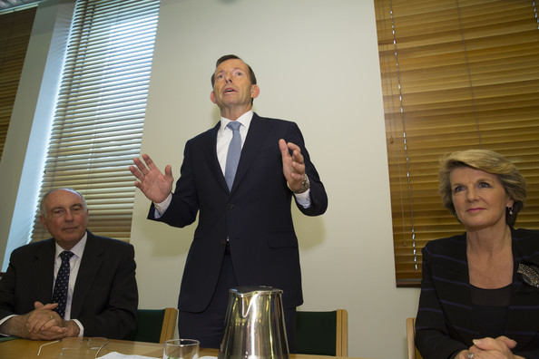 Coalition MPs Hold Meeting Canberra