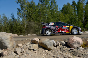 Julien Ingrassia FIA World Rally Championship Finland - Day Four