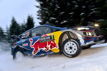 Julien Ingrassia FIA World Rally Championship Sweden - Shakedown
