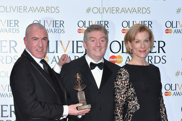 Juliet Stevenson The Olivier Awards with Mastercard - Winners Room