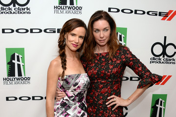 Juliette Lewis Julianne Nicholson Press Room at the Annual Hollywood Film Awards