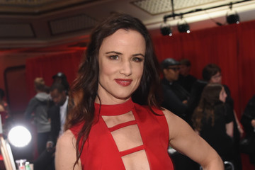 Juliette Lewis The American Heart Association's Go Red For Women Red Dress Collection 2017 Presented By Macy's at Fashion Week in New York City - Backstage
