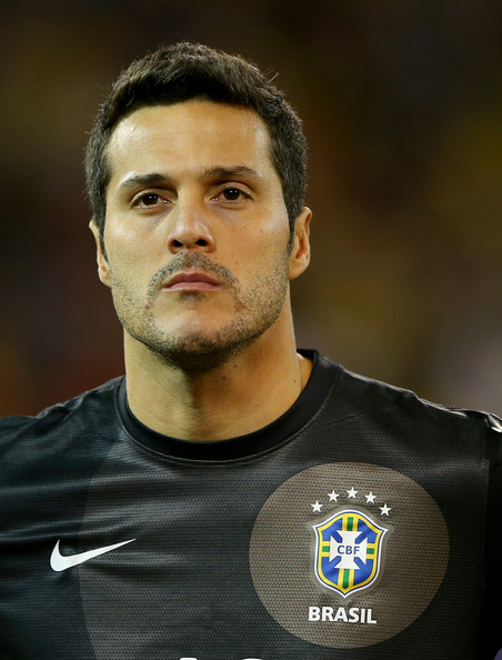 Julio Cesar Julio Cesar 12 of Brazil stands by as the national anthem Julio Cesar Brazil - Julio%2BCesar%2BBrazil%2Bv%2BChile%2B6lv7-PrAUYrl