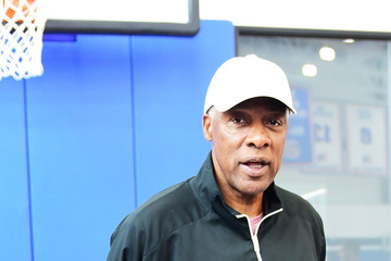 Julius Erving Erving Youth Basketball Clinic and Panel