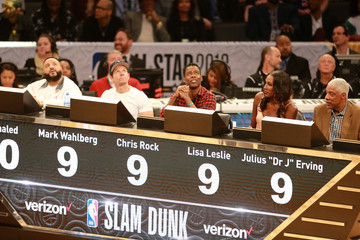 Julius Erving Celebrities Attend the 2018 State Farm All-Star Saturday Night