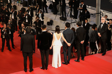 Jun-dong Lee 'Dogman' Red Carpet Arrivals - The 71st Annual Cannes Film Festival