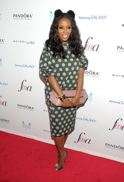 June Ambrose - Arrivals at the First Fashion Media Awards