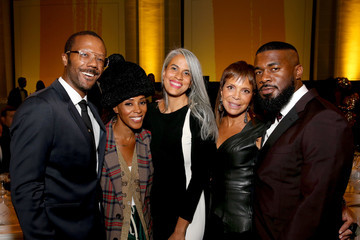 June Ambrose American Express And Pharrell Williams Host The Yellow Ball At The Brooklyn Museum In Support Of Arts Education Nationwide