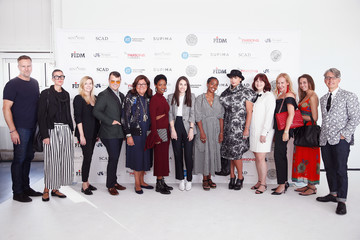 June Ambrose Supima Design Competition - SS18  - Front Row