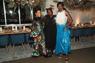 June Ambrose Visa x IMG Fashion Holiday Dinner