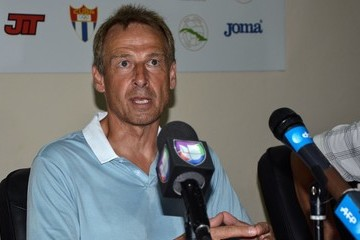 Jurgen Klinsmann Friendly Cuba-U.S. Soccer Match in Havana