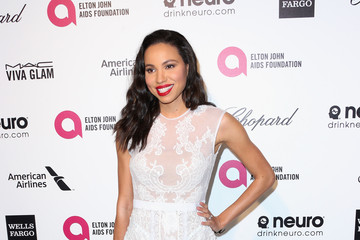 Jurnee Smollett Arrivals at the Elton John AIDS Foundation Oscars Viewing Party — Part 4