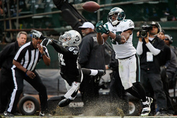 Juron Criner Philadelphia Eagles v Oakland Raiders
