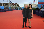 """Sir Ben Kingsley and wife Daniela Lavender attend """"Operation Finale"""" film Premiere on September 5, 2018 in Deauville, France."""