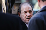 Harvey Weinstein enters a Manhattan court house as a jury continues with deliberations in his trial on February 24, 2020 in New York City. On Friday the judge asked the jury to keep deliberating after they announced that they are deadlocked on the charges of predatory sexual assault. Weinstein, a movie producer whose alleged sexual misconduct helped spark the #MeToo movement, pleaded not-guilty on five counts of rape and sexual assault against two unnamed women and faces a possible life sentence in prison.