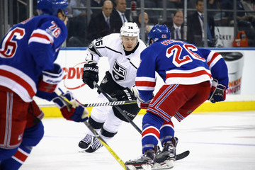 Jussi Jokinen Los Angeles Kings v New York Rangers