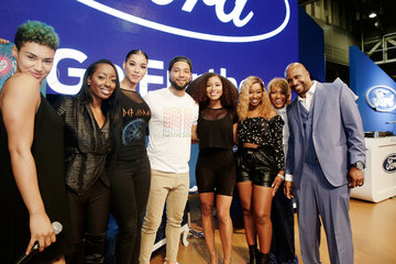 Jussie Smollett SiriusXM's Heart & Soul Channel Broadcasts from Essence Festival In New Orleans - Day 1