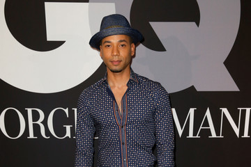 Jussie Smollett GQ and Giorgio Armani Grammy Afterparty — Part 2