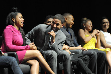Jussie Smollett Inside the PALEYFEST 'Empire' Panel