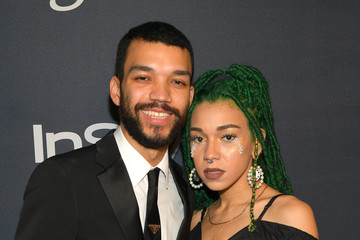 Justice Smith The 2020 InStyle And Warner Bros. 77th Annual Golden Globe Awards Post-Party - Red Carpet