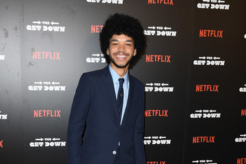 "Justice Smith ""The Get Down"" New York Premiere"