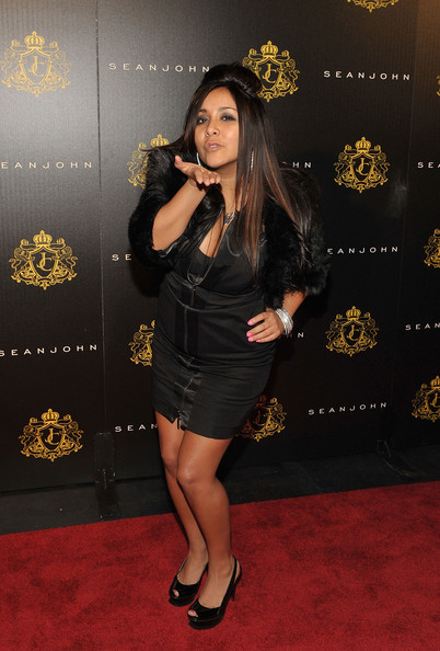 "Nicole ""Snooki"" Polizzi attends Justin Dior Comb's 16th birthday party at M2"