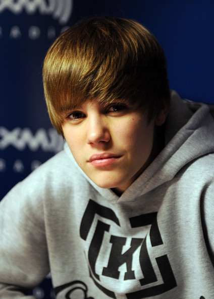 Justin Bieber visits SIRIUS XM Studio on March 11, 2010 in New York, New York.