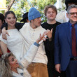 Justin Bieber Sir Lucian Grainge Honored With A Star On The Hollywood Walk Of Fame