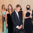 Justin Bieber The 2021 Met Gala Celebrating In America: A Lexicon Of Fashion - Arrivals