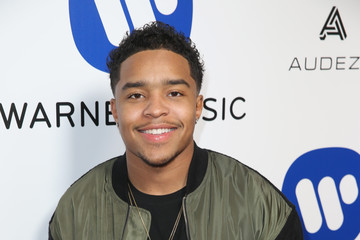 Justin Combs Warner Music Group Hosts Annual Grammy Celebration   Red Carpet
