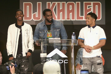 Justin Combs DJ Khaled Special Announcement Press Conference