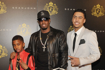 Sean Combs Christian Combs Justin Dior Comb's 16th Birthday Party