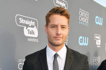 Justin Hartley The 23rd Annual Critics' Choice Awards - Red Carpet